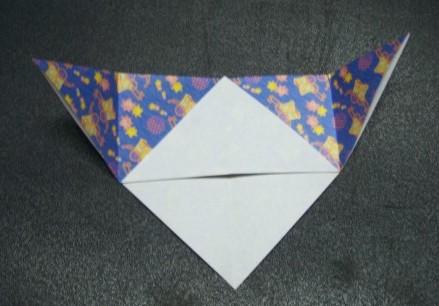 Origami Lesezeichen Bastelfrau
