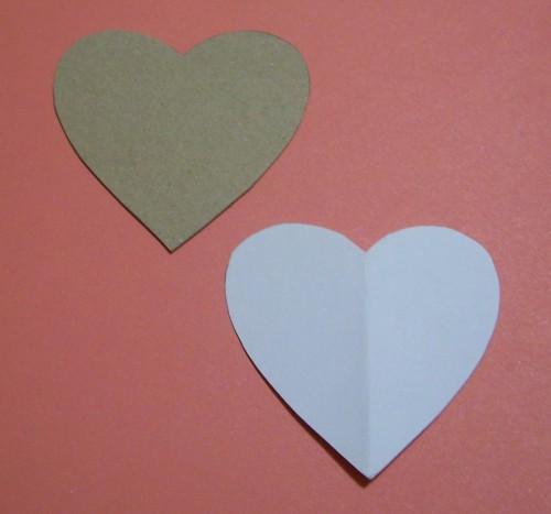 Bastelvorlage für Herzen selbermachen | Bastelfrau