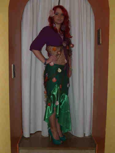 Arielle-Kostüm | Bastelfrau