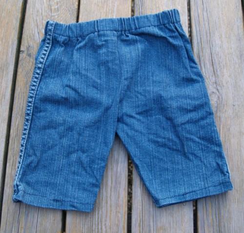 Babyhose aus alter Jeans | Bastelfrau