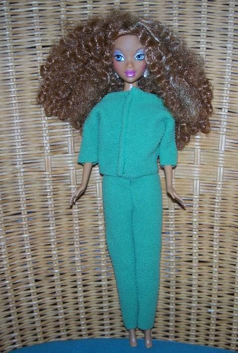 Hosenanzug für Barbie und Co. | Bastelfrau
