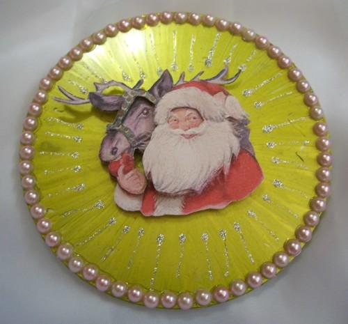 Verschiedene Cd Ornamente Nicht Nur Für Weihnachten Bastelfrau