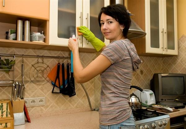 5 tipps um die k che sauber zu halten bastelfrau. Black Bedroom Furniture Sets. Home Design Ideas