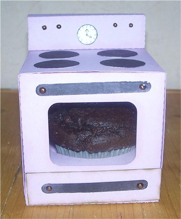 geschenkverpackung backofen f r muffins bastelfrau. Black Bedroom Furniture Sets. Home Design Ideas