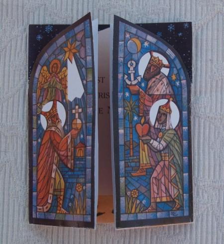 Verschiedene Weihnachtskarten | Bastelfrau