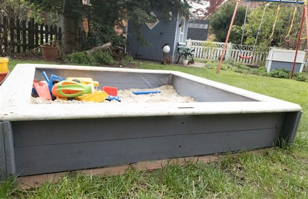 Top DIY Spielparadies: Sandkasten bauen | Bastelfrau ® XN22