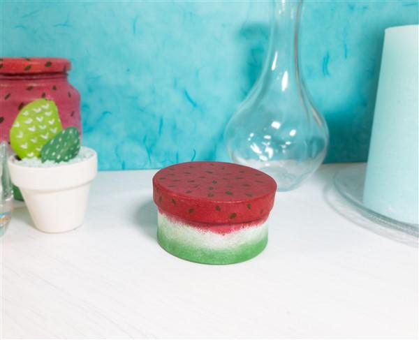 Sommerliches DIY: Melonen-Schachtel selber machen