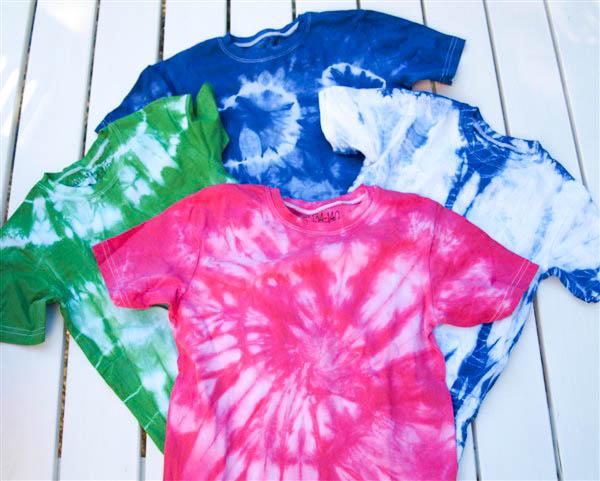 Favorit DIY Fashion: Kinder T-Shirts batiken | Bastelfrau ® LY45