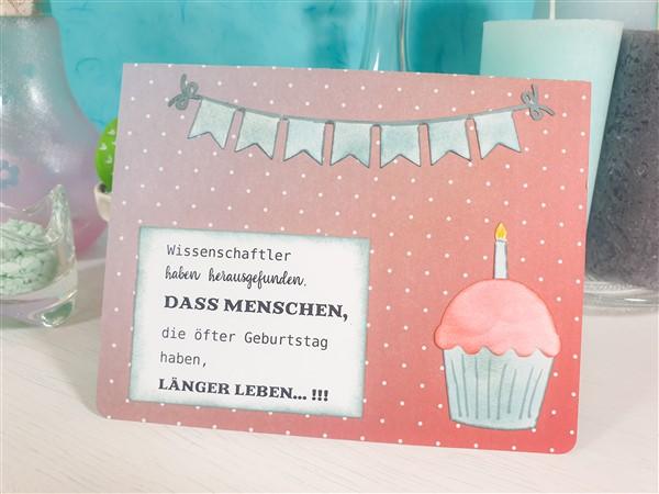 Geburtstagskarte Basteln Frau.Geburtstagskarten Bastelfrau