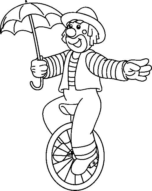 malvorlagen elfen und clowns  bastelfrau