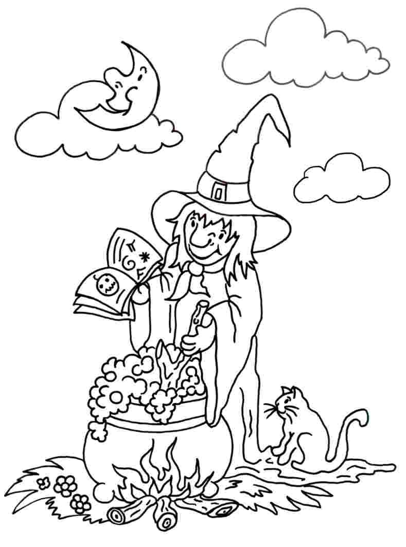 Malvorlagen Herbst Und Halloween Bastelfrau