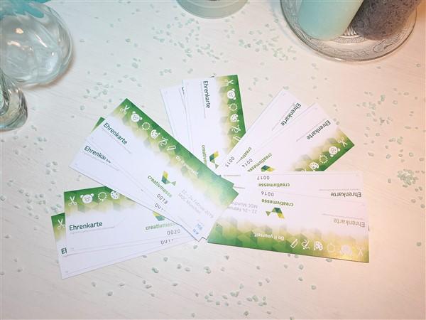Gewinne 5 x 2 Karten für die Creativmesse in München