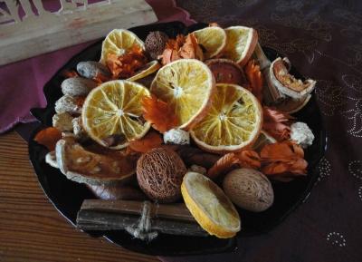 Orangenscheiben Trocknen Bastelfrau