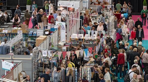 Bild: M3B GmbH / Jan Rathke -Die KreativZeit findet von Freitag bis Sonntag, 20. bis 22. September, in Halle 7 der Messe Bremen statt.