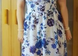 DIy Sommerkleid selber nähen mit Volant