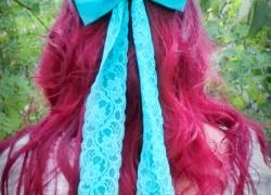 Arielle Kostüm Haarschleife