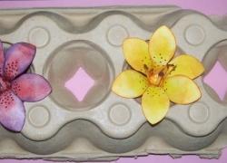 Trockenständer für`s Blumenbasteln