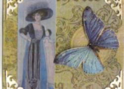 Artist Trading Card Frauen