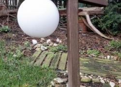 DIY Gartenleuchte