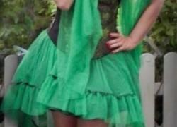 Poison Ivy Kostüm selber machen