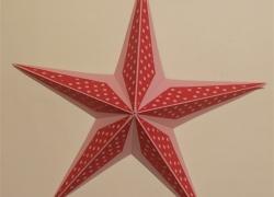Fünfzackiger Stern diy