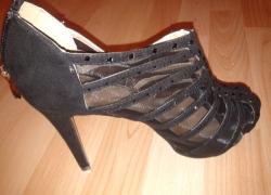 Schuhe mit Strass pimpen