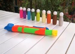 DIY-Wasserspielzeug für den Garten