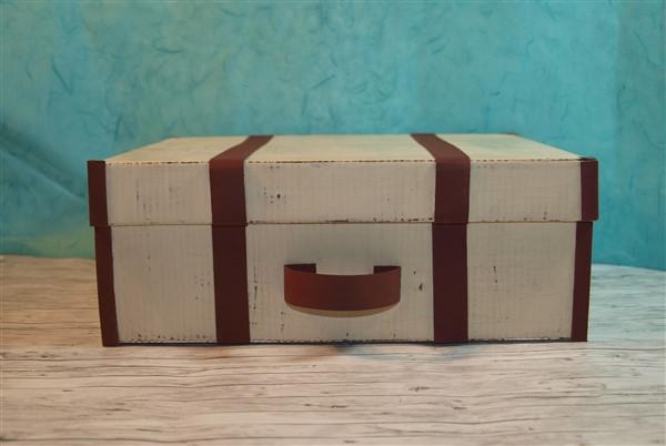 Koffer aus pappe