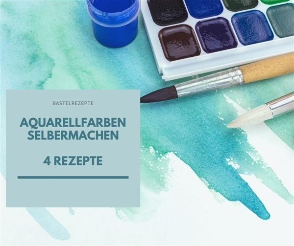 Aquarellfarbe selber machen