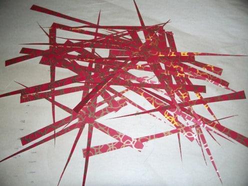 Papierstreifen für Papierperlen