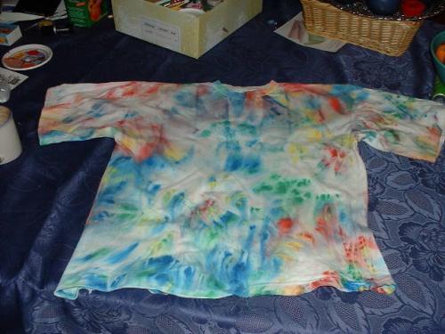 T-Shirt falsche Batik