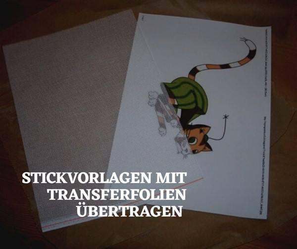 Stickvorlage aus Foto erstellen