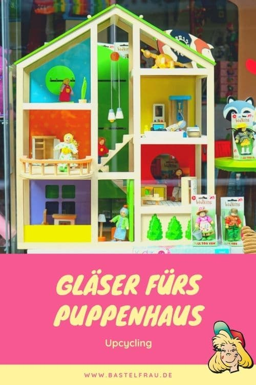 Upcycling: Gläser fürs Puppenhaus basteln