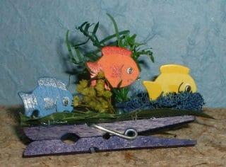 Minidekoration Aquarium