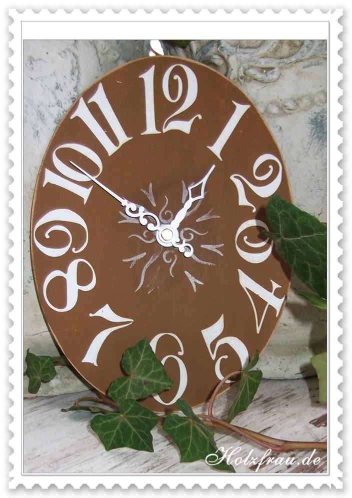 Zeigermontage auf Uhrwerke mit extragroßen Zeigern
