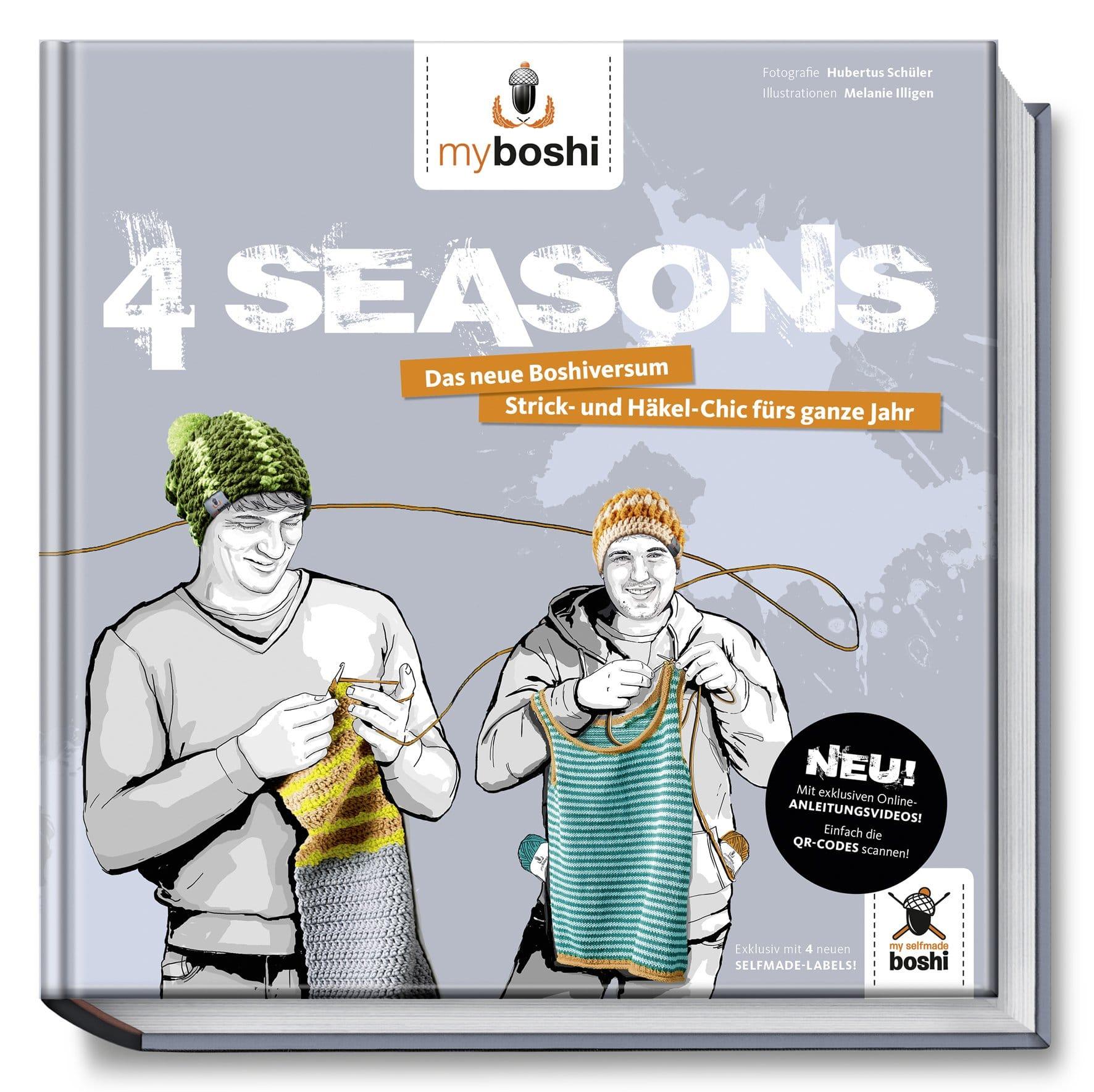 myboshi - 4 Seasons. Das neue Boshiversum - Strick- und Häkel-Chic fürs ganze Jahr.