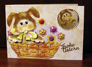 Osterkarte für Kinder