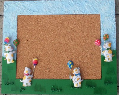 Pinwand für Minis