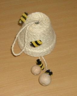 Bienenstock Tontopf