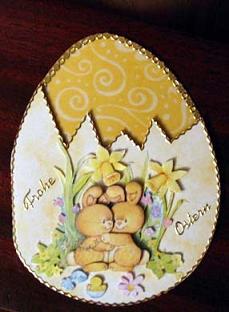 Osterkarten basteln