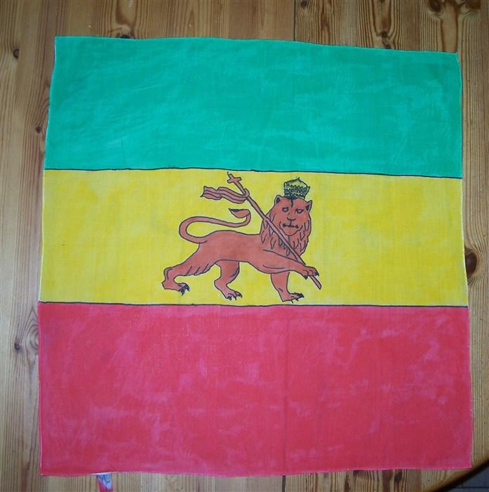 Halstuch mit äthiopischer Flagge