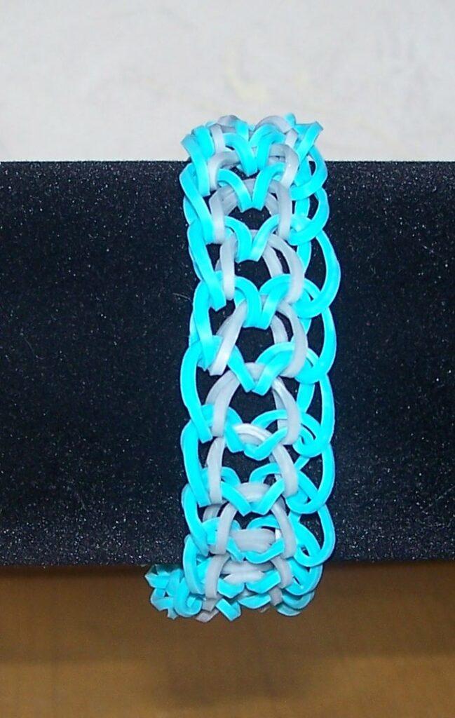 Rubberbands mit Drachenschuppenmuster