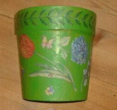Halbtöpfe für Blumensamen, Gartenuntensilien und Küchengeschenke