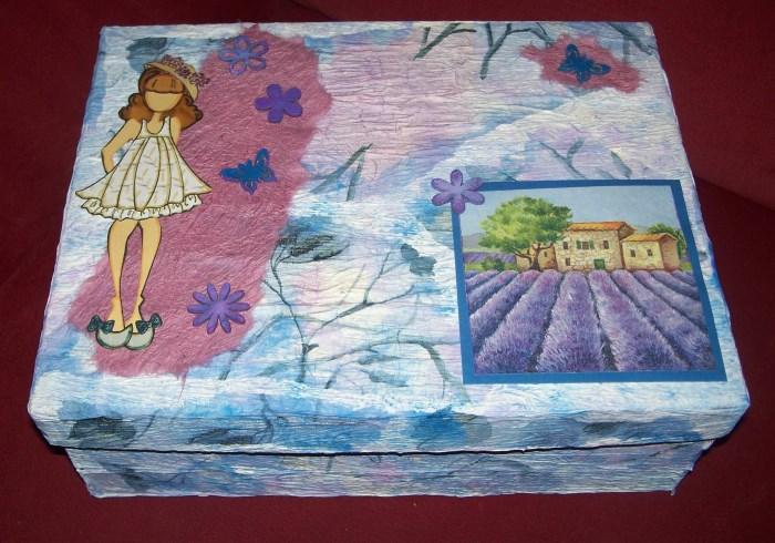 """Geschenkbox """"Spezialitäten aus der Provence"""" selbst gemacht"""
