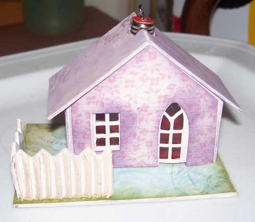 "Glitterhäuser oder ""Putz Houses"""