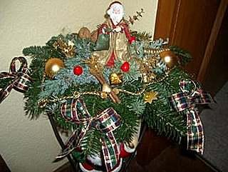 Weihnachtliche Floristik
