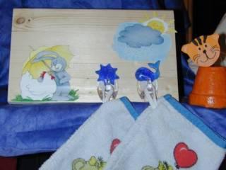 Kinderzimmergarderobe