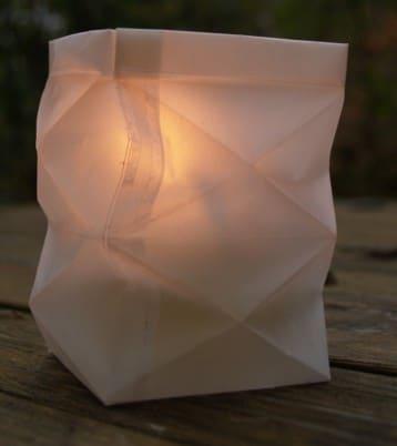 Knickwindlicht aus Transparentpapier