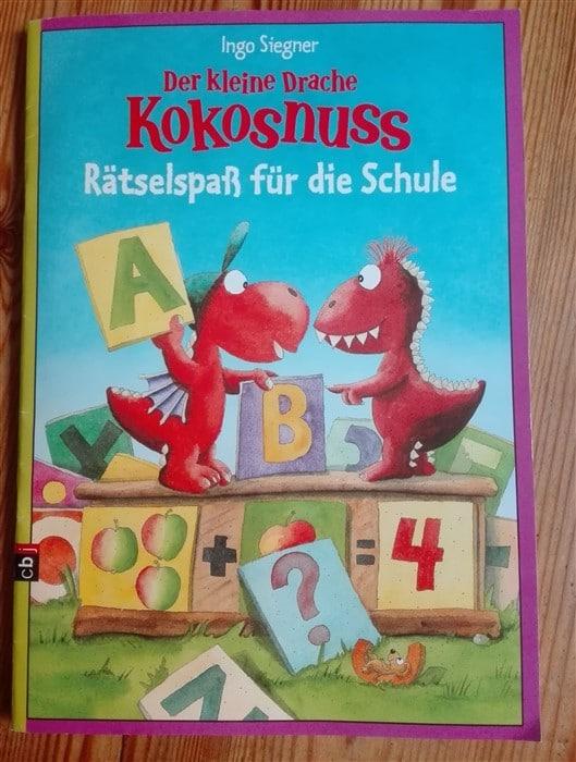 Der kleine Drache Kokosnuss - Rätselspaß für die Schule