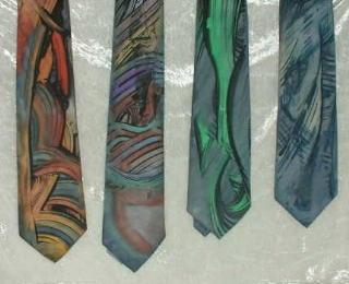 Krawatten für Märkte und Basare bemalen